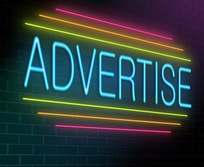 Advertise concept.