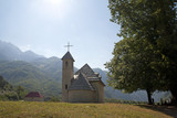 Church at Albanian Alps