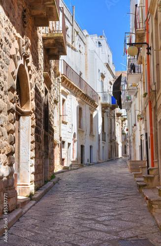 Alleyway. Putignano. Puglia. Italy. - 55387771