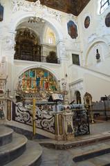 Mother Church of St. Pietro. Putignano. Puglia. Italy.