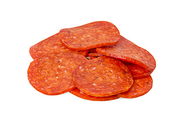 the cut Pepperoni