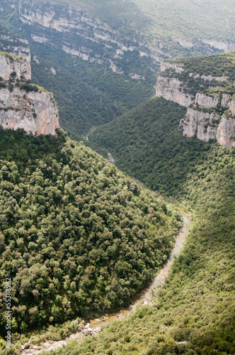 Foz of Arbayun, nature reserve in Navarre (Spain)