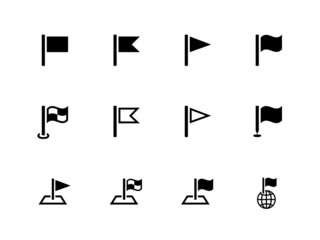 Flag icons for Presentations on white background.