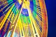 Riesenrad auf dem Rummel - Langzeitbelichtung