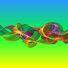 abstract twisted waves