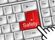 Tastatur Cursor Safety