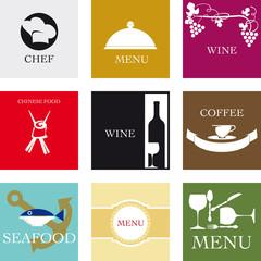 Etichette per la ristorazione