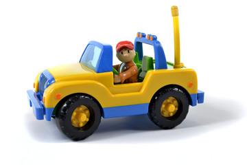 petite voiture de chantier