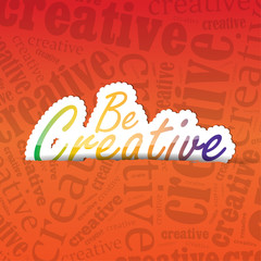 Be Creative Background