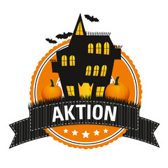 Haloween-Button: Aktion