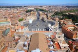 Rome cityscape with Vatican