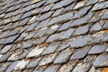 Aged Slate roof tiles
