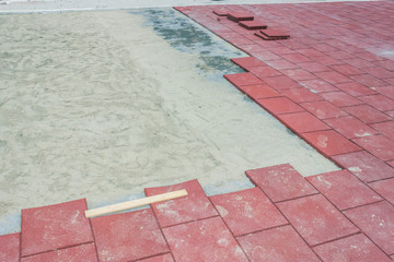 Rubber Brick Pavers