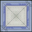 RUSSIA - 2013: shows the Orenburg kerchief