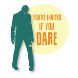 Zombie Halloween Invitation