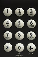 Teclado de telefonía