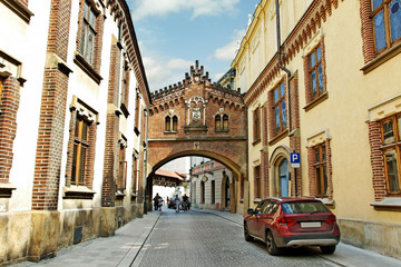 Center of Cracow.