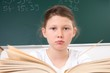 Bockige Schülerin