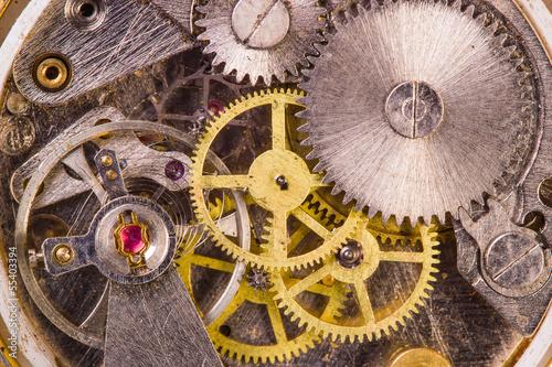 Old clock close up © injenerker