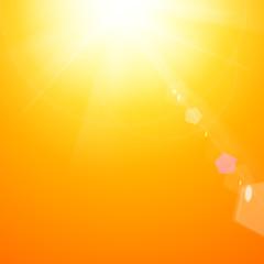 Shiny sunburst.