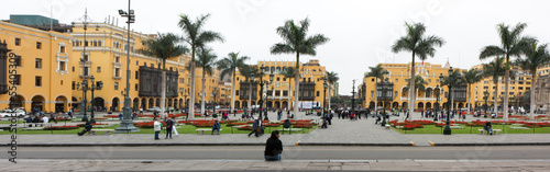Plaza Mayor (formerly, Plaza de Armas) of Lima, Peru