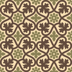 classic vintage seamless pattern