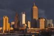 Atlanta Georgia Stormy Skyline