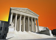 Supreme Court Washington DC Dusk