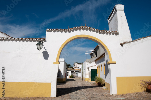 Typical manor house in Alentejo (Portugal)