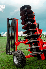 Agricultural equipment. Detail 163
