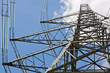 Pylon for Power Cabling in the English Countryside