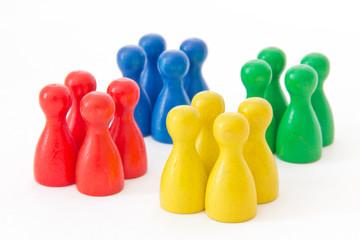 Teams - groups of game figurines