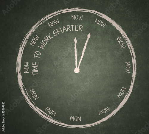 Time to work smarter on blackboard