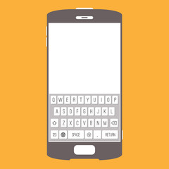 Smartphone Touchscreen Keypad