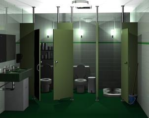 Toilette für Frauen