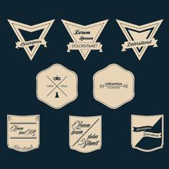 Vintage Logo Vector Set