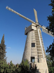 Windmill, Jerusalem
