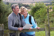 Mature Couple On Country Walk - 55419122