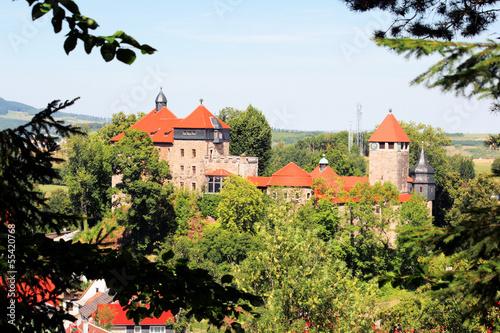 Schloss Elgersburg im Ilm-Kreis in Thüringen