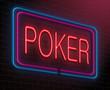 Poker concept.