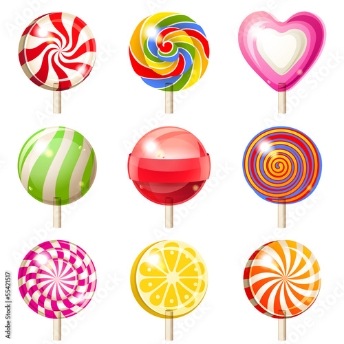 Lollipops set