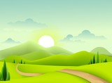 green landscape for you design