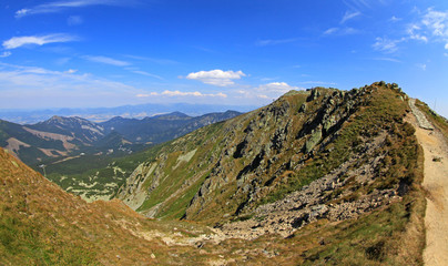 View from Derese - Low Tatras, Slovakia
