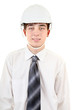 Handsome Young Man in Hard Hat
