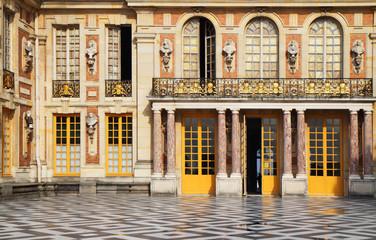 Cour de marbre, Versailles