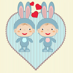 Valentine card.