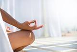Fototapety Woman meditating