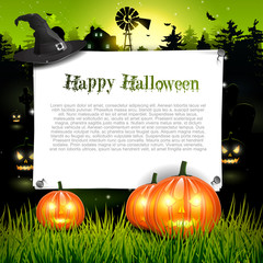 Halloween background with place for text