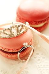 ティアラと婚約指輪