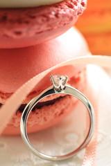 甘い婚約指輪